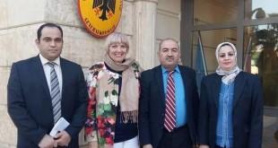 ائب رئيس البرلمان الألماني الاتحادي يلتقي في أربيل ممثلي المكونات