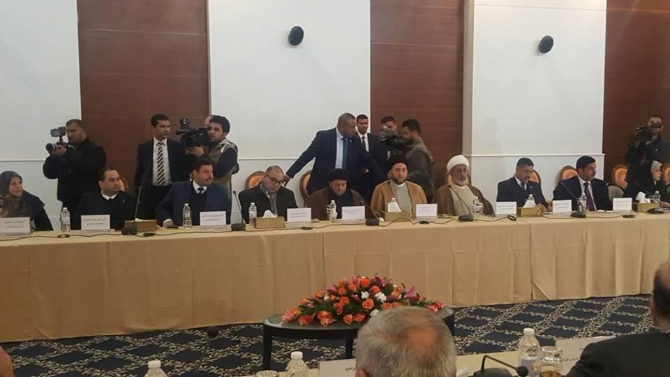 أبناء النهرين يشارك في اجتماع وفد التحالف الوطني ووفد الأحزاب1