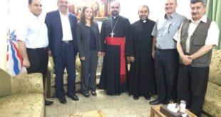ابناء النهرين يستقبل نيافة الاسقف د. مار أبرس يوخنا 6