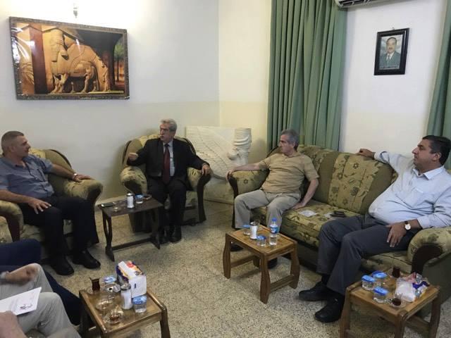 أبناء النهرين يستقبل في أربيل السيد بشير سعدي وعدد من الناشطين من أبناء شعبنا 1