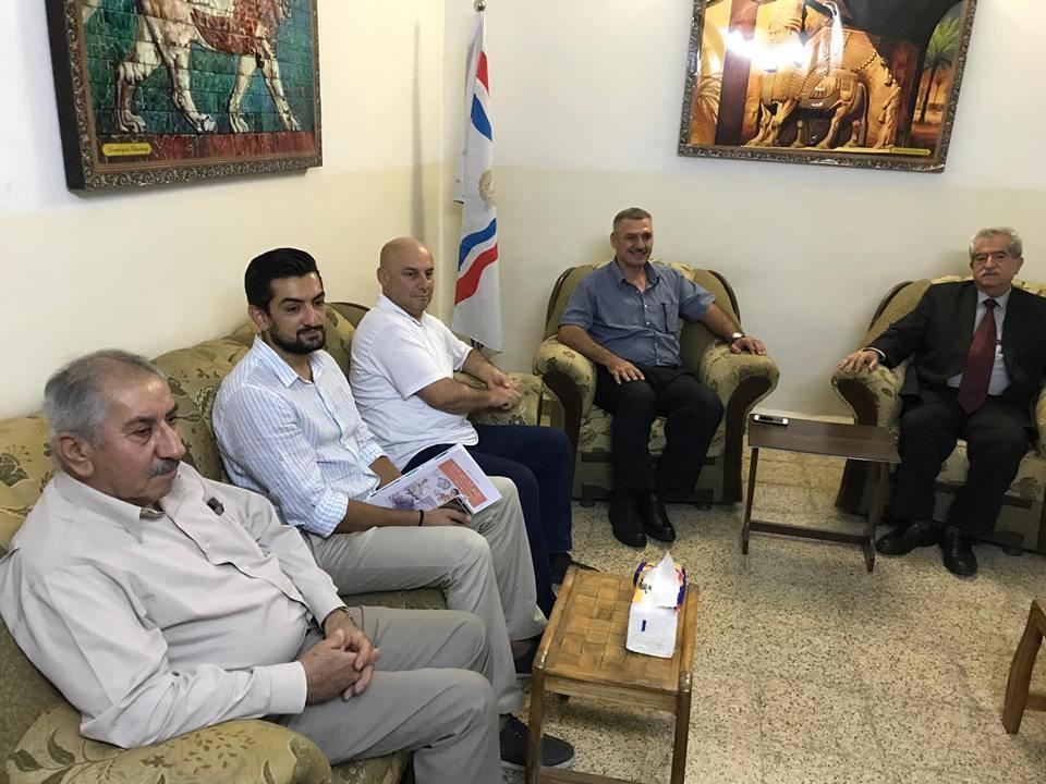 أبناء النهرين يستقبل في أربيل السيد بشير سعدي وعدد من الناشطين من أبناء شعبنا 3
