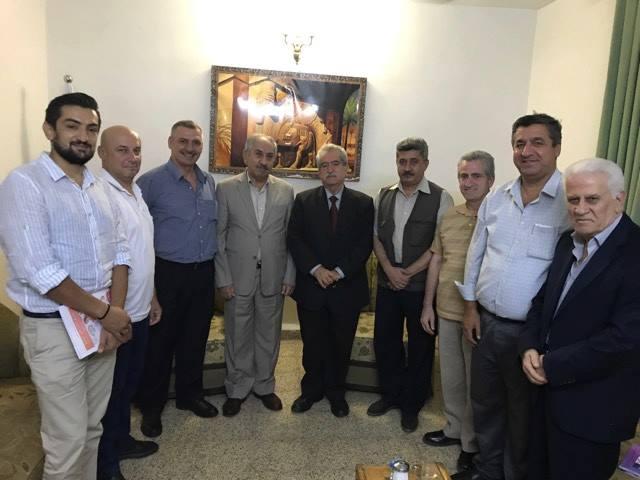 أبناء النهرين يستقبل في أربيل السيد بشير سعدي وعدد من الناشطين من أبناء شعبنا 4