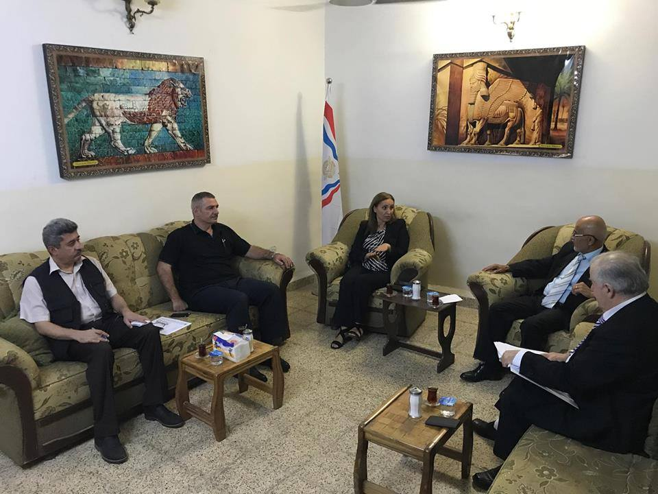 أبناء النهرين يستقبل وفد الاتحاد الآشوري العالمي 2