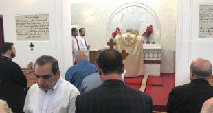 قداس تذكار السنة للراحل المناضل شمائيل ننو بنيامين، والأب الراحل بطرس يونان