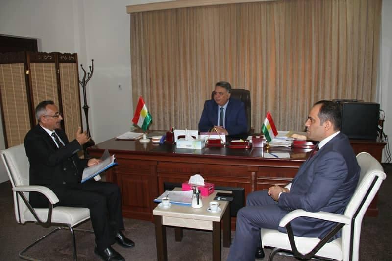 وزير التعليم العالي في حكومة إقليم كوردستان اللغة السريانية جزء مهم من التراث السرياني 1