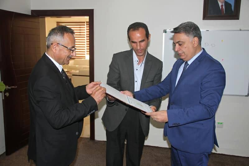 وزير التعليم العالي في حكومة إقليم كوردستان اللغة السريانية جزء مهم من التراث السرياني 3